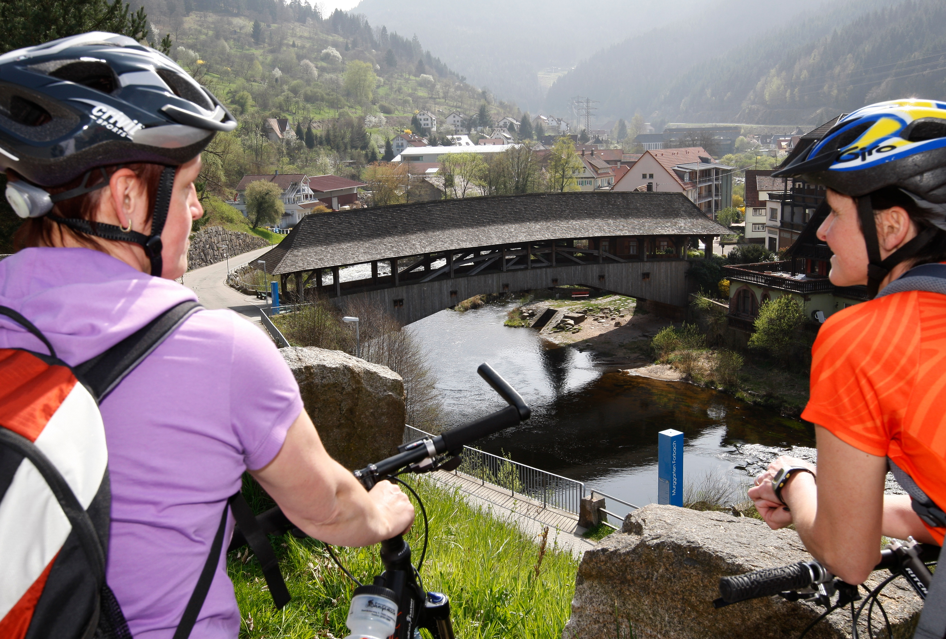 Radlerpause Tour de Murg in Forbach