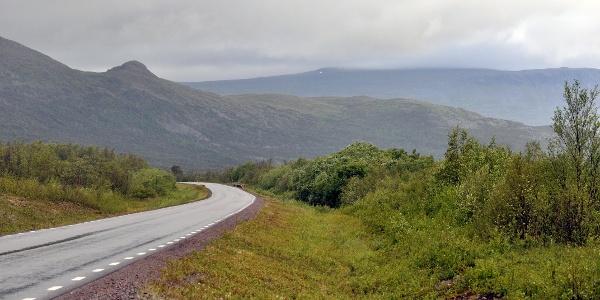 Scenic road E10 Kiruna – Riksgränsen