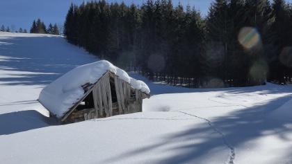 Winterlandschaft im Quellgebiet der Wertach