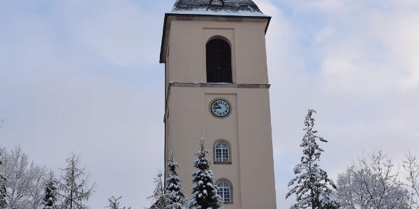 Ev.-luth. Kirche Thalheim im Winter
