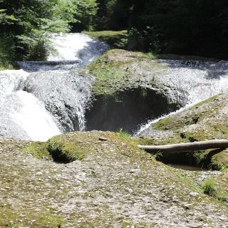 Wasserfälle im NSG Eistobel