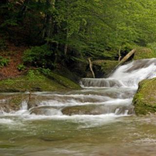 Wasserfälle im Eistobel