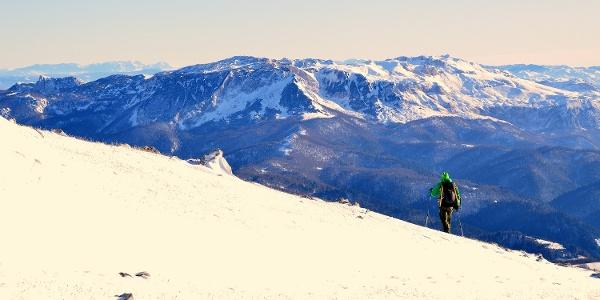 view on Treskavica mountain from Stirni do on Bjelasnica mountain