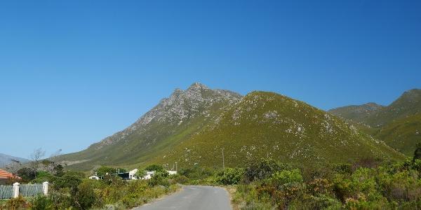 Three Sisters bei Kleinmond in Südafrika