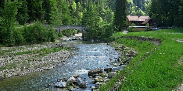 Alte Schwarzwasserbrücke.