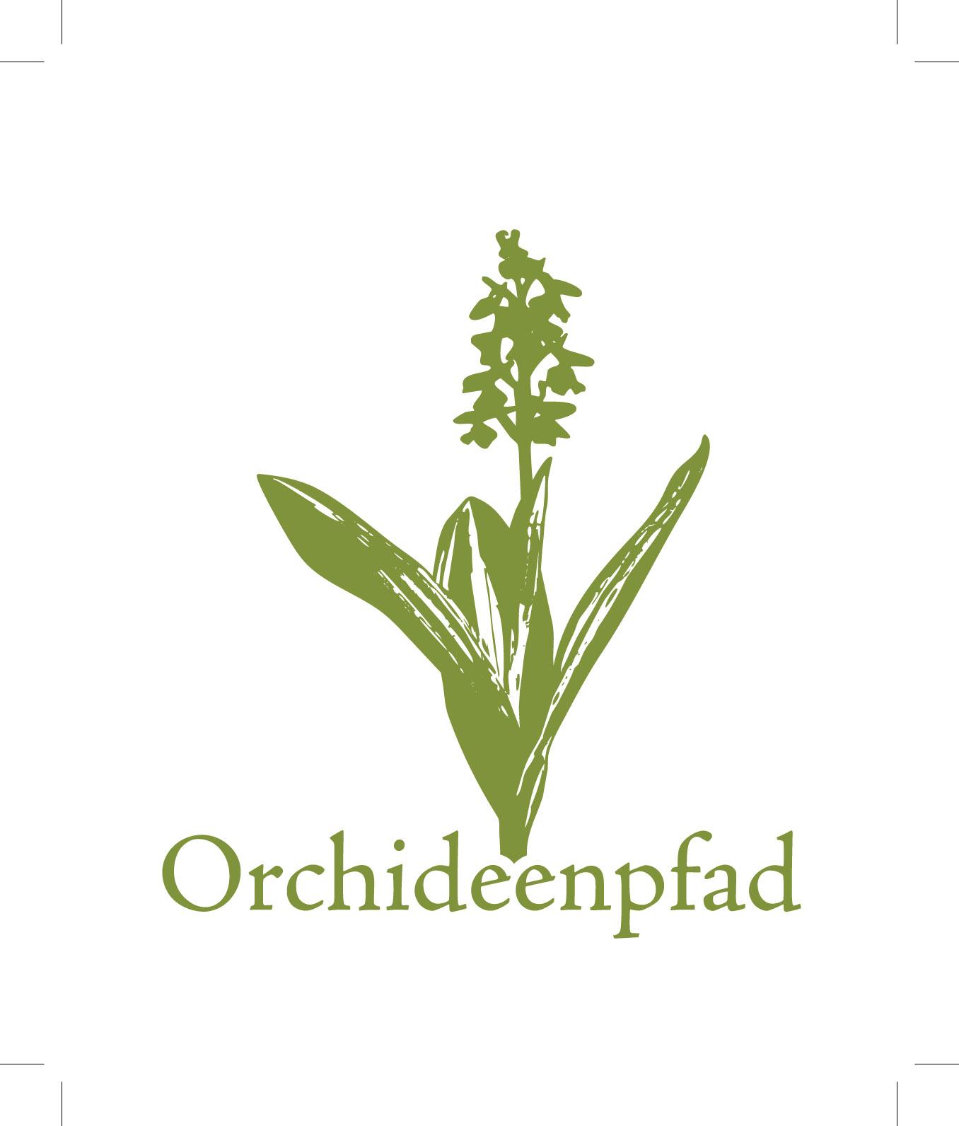 Wegebeschilderung Orchideenpfad Gersheim