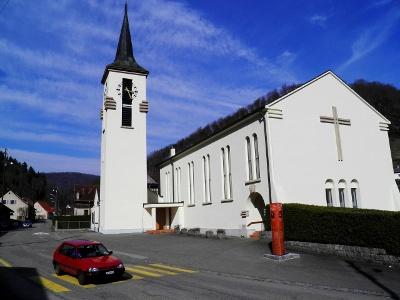 Soyhières: Kirche
