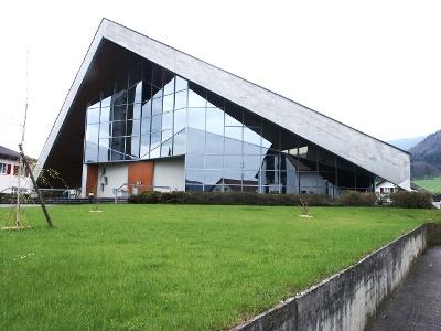 unkonventionelle Kirche von Vicques