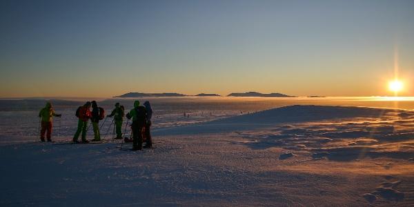Hetta-Pallas hiihtoreitti kulkee Ounastunturien Pyhäkerolta Hannukuruun avotunturissa