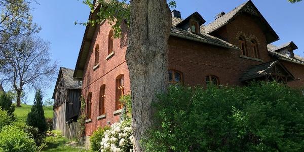 Außenansicht Landhaus Bad Brambach
