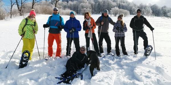 Schneeschuhwandern mit Peter Stolle