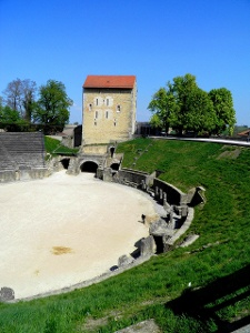 Avenches: Amphitheater