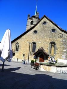 Avenches: Kirche