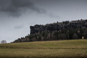 Foto Blick auf den Pfaffenstein
