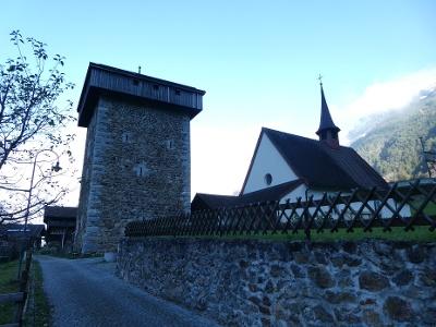 Silenen, Meierturm, Nothelferkapelle