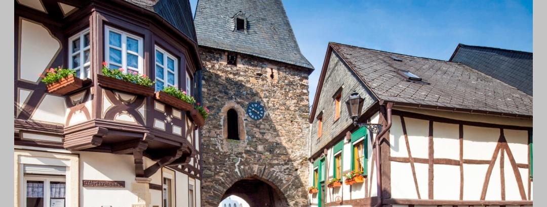 Historischer Ortskern Herrstein, Uhrturm