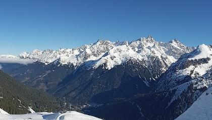 Panorama au sommet de la randonnée