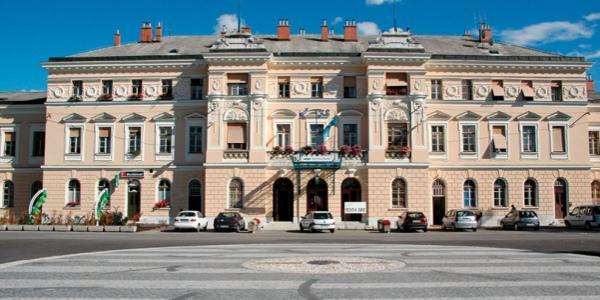 Nova Gorica - Gorizia, piazza Europa