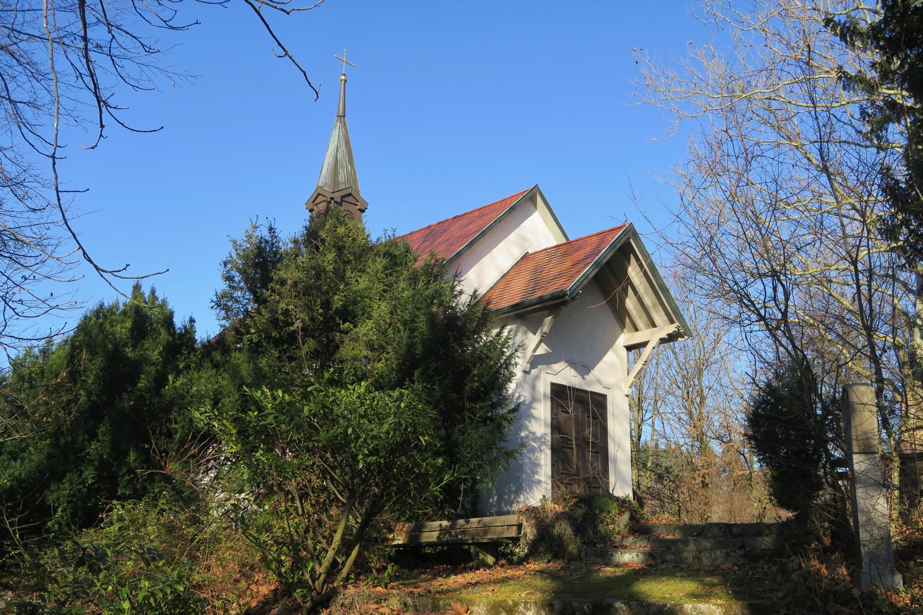 Kalvarienbergkapelle in Murg.