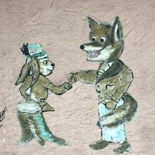 Fuchs und Hase sagen sich gute Nacht