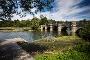 Die malerische Kanzelbrücke ist die älteste Brücke über den Möhnesee.