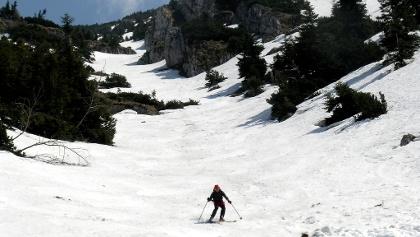 Fürstenplan: In der Fürstenplan auf 1700 m