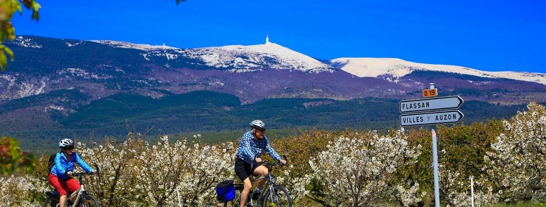 Tour du Ventoux à vélo