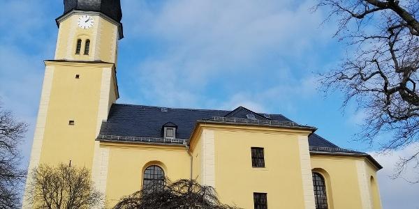 Evangelische Kirche Hohndorf bei Greiz - Ansicht von Süden