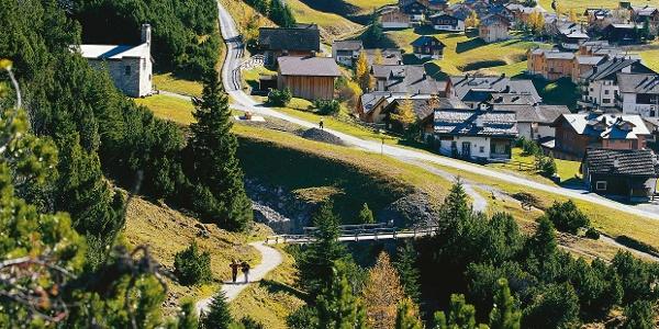 Malbun liegt 1600 Meter über Meer