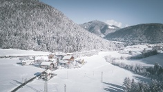 Winter hike: Niederrasen to Neunhäusern