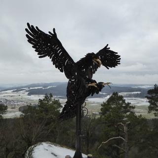 Adler am Berg