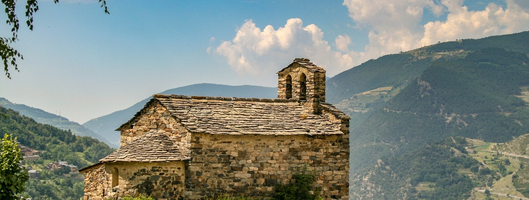 Church in the pyrenees