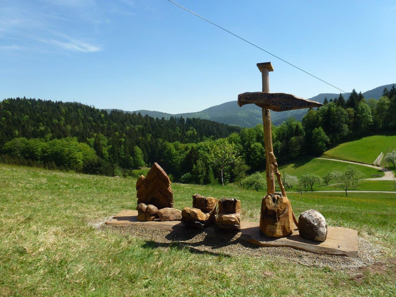 Fotostation am Schwarzwaldsteig