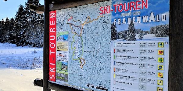 SKI TOUREN um Frauenwald
