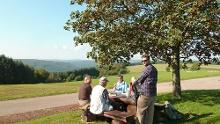 Amorbach: Nordic Walking Tour - Über den Gotthard zum Höhenort Neudorf