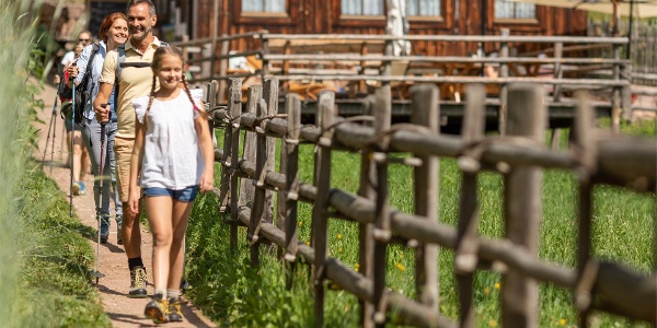 Gemütliche Familienwanderung in Vöran