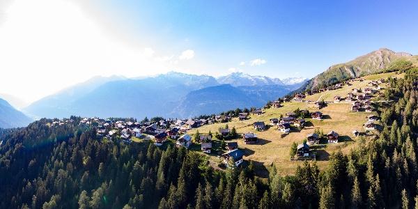 Rosswald, Ausgangspunkt der Wanderung