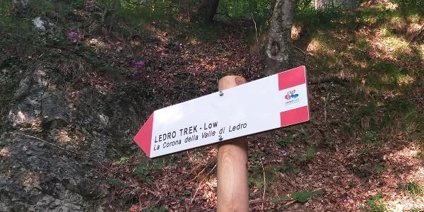 Segnaletica Ledro Trek Low
