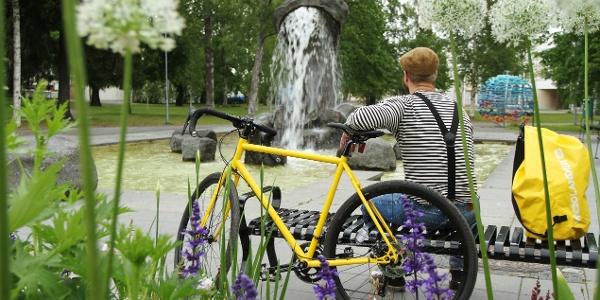 Pyörien vuokrausta Kokkolassa. Tutustu kaupungin nähtävyyksiin pyöräillen.