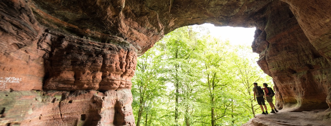 Die Genovevahöhle im Kylltal am Eifelsteig