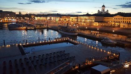 Sommernacht in Helsinki