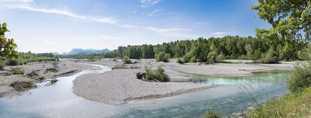 Am Fluss Drôme