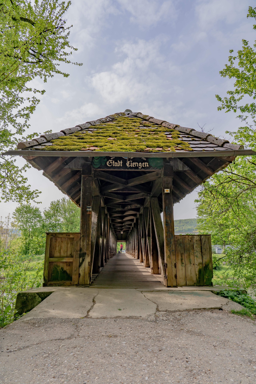Holzbrücke an der Wutach Tiengen