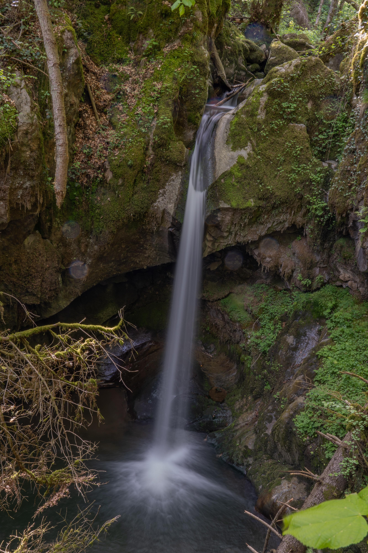 Am Haselbachwasserfall