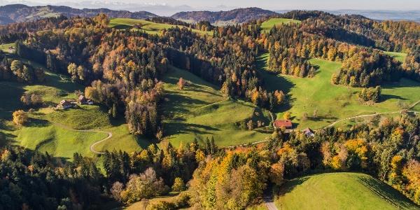Berggebiet von Sternenberg