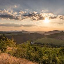 Sonnenuntergang im Schmallenberger Sauerland