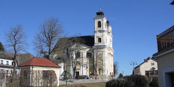 Die Wallfahrtskirche von Hafnerberg