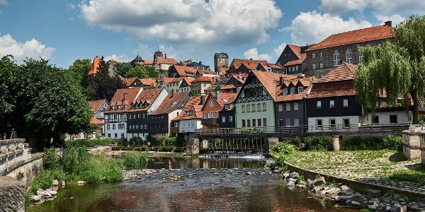 Kronach mit der Festung Rosenberg