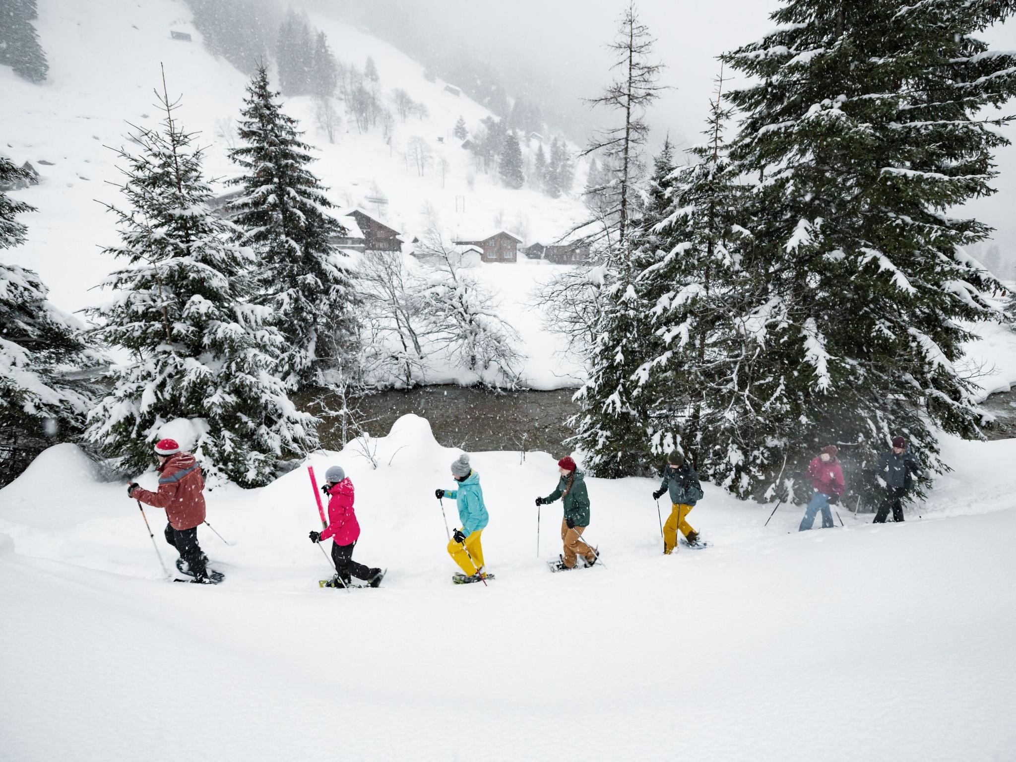 Schneeschuhlaufen Göscheneralp