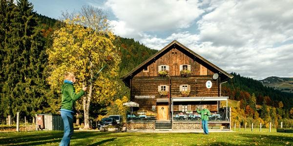 Perfekt für Familien: Die Oberlandhütte